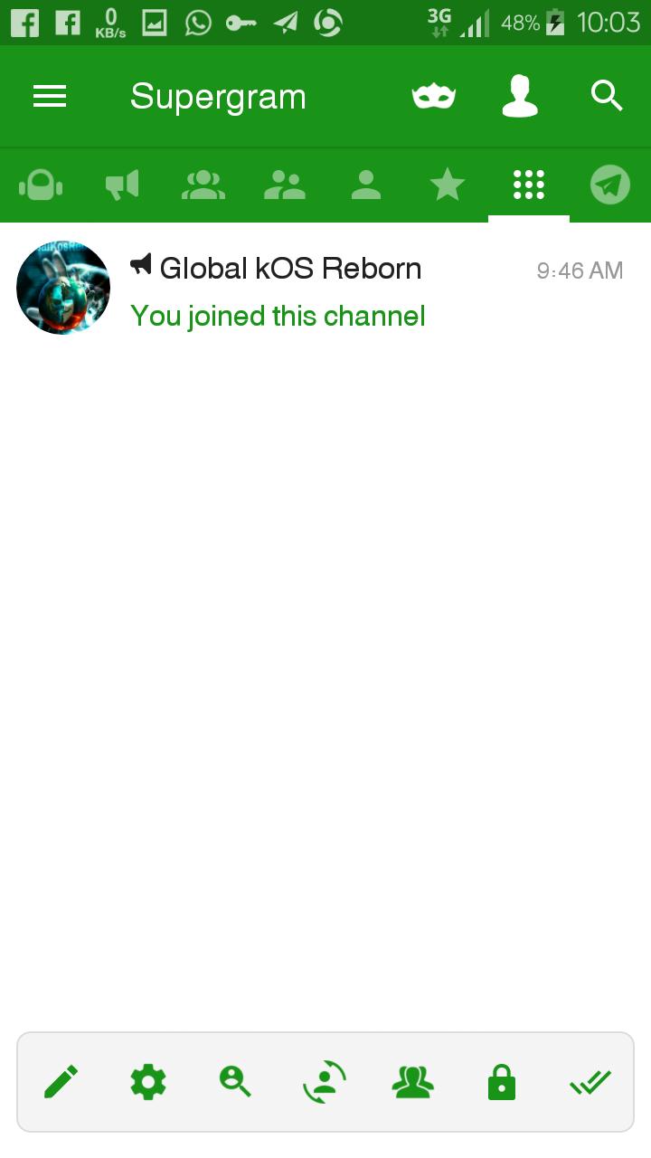 New Telegram apk Known as SUPERGRAM | globalkosreborn